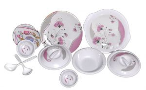 Dinner sets - Choice 32 PCs Melamine Dinner Set Le-ch-006