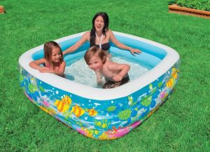 Inflatable Toys - Intex Aquarium Pool