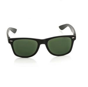 EDGE Plus Black Wayfarer Sunglasses