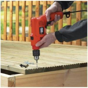 Iam Magpie,Johnson & Johnson,Spice,Hou dy,Black & Decker Home Decor & Furnishing - Black And Decker 10mm Electric Drill Machine