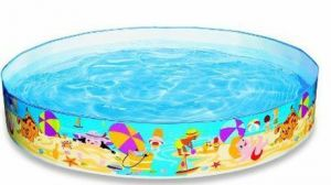 Inflatable Toys - New Snapset Baby Pool Inflatable Baby Bath Ring Fun & Play