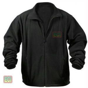 Gents Ultra Soft Polar Fleece Jacket Thermal Winter Wear Jersey - Men Black