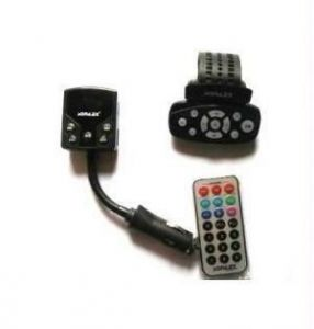 Car MP3 FM Modulator With Dual Remote Control