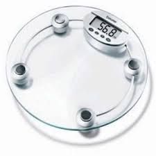 Weighing Machines - Home Basics Digital Weighing Scale With Glass LCD Display