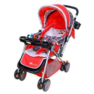 Walkers - Harry & Honey Baby Stroller (hh8806a Red)