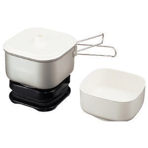 Electric Travel Cooker Traveling Cooking Set