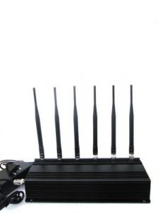 High Power Mobile Phone Jammer 4 Antenna- Spy Universe