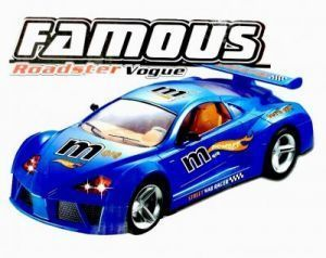Famous Rechargeable Rc Sports Roadster Car Blue