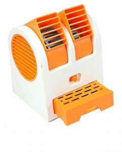 Mini Fragrance Air Conditioner Cooling Fan Orange