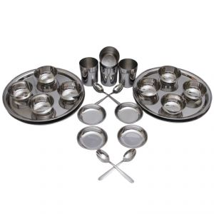 Czar 24 PCs Stainless Steel Economy Dinner Set
