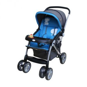 Harry & Honey Baby Stroller Sapphire (d400 Blue)