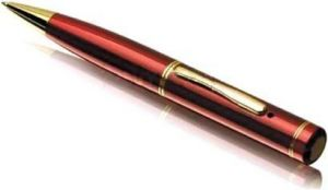 Being Trendy Spy Gadget Mp42 Red HD 4GB In-built Pen Spy Camera (5 Mp)