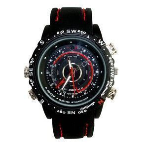 Indmart 4GB Super Sports Wrist Watch Spy Hidden Camera