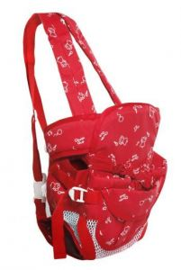 Early Smile Red Baby Carrier For Babies-gear123