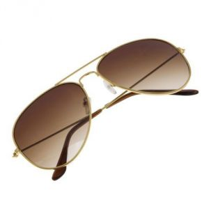 Aviator Brown Sunglass