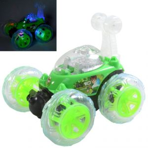 17cm Rechargeable Radio Control Rc Stunt Twister Car Kids Toys Remote - Rc Ty 104