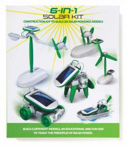 6 In 1 Educational Solar Energy Kit - Series 1