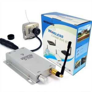 Wireless Surveillance 6 LED Night Vision Color Security Cctv Camera