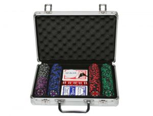 Sands Incorporation 200 Denomination Clay Chips Poker Game Set