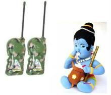 New Walky Talky Set Soft Toy Krishna