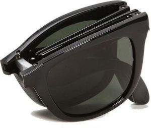 Ksr E Trade Multi Shaded Wayfarer Foldable Sunglasses Black Shade