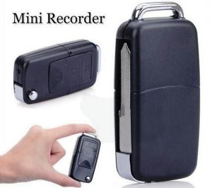 Spy Keychain Camera Audio Video Motion Detection Recorder