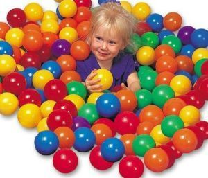Premium Quality Fun Ballz 100 PCs