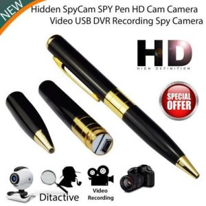 Security Cameras - Dvr Digital Video Camera Spy Pen With HD Video Spy Camera