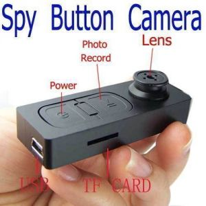 Security Cameras - 32 GB Spy Button Camera Video Audio Recorder Mini Dvr USB Vibration