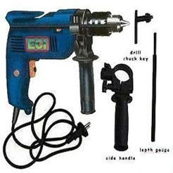 Power Tools - 13mm Superpower Electric Drill Machine, Impact Hammer, Multy Speed Drilling