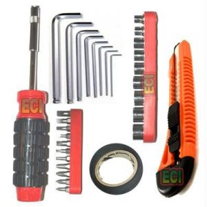 35 Tools Tool Kit, 8 Hex Allen Key Toolkit, Cutter
