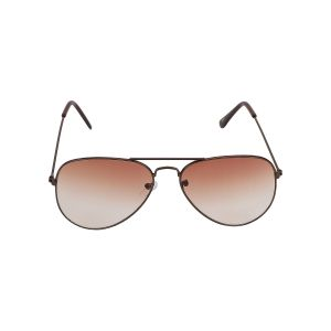Visach Aviator Unisex Sunglasses (code - Aviator Black Brown)