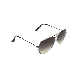 Visach Aviator Unisex Sunglasses (code - Aviator Black Green)