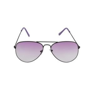 Visach Aviator Unisex Sunglasses (code - Aviator Black Purple)