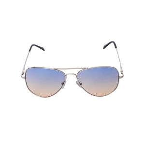 Visach Aviator Unisex Sunglasses (code - Aviator Blue Brown)