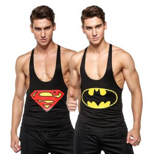 Superman 3d Gym Compression Tank Top Combo By Visach (code - Vs_cc_combo_110)
