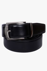Visach Formal Leatherite Black-brown Reversible Belt For Men (code - Vs_fantapin_fs)