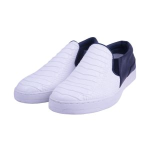 Visach Men Canvas No Lace Shoe