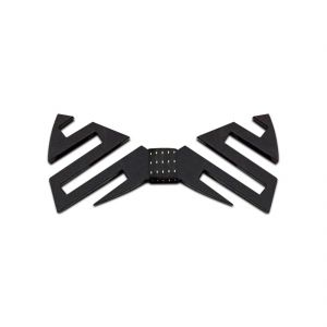 Visach Acrylic Designer Neck Bows For Men (code - Vs_nbow_135_black)