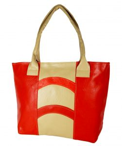 All Day 365 Red Artificial Leather Fashion Bag Hba68