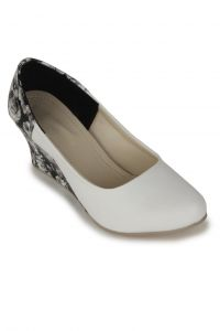 Naisha Wedges For Women (code - Sc-mq-1115-white)