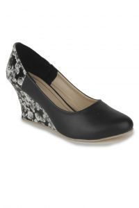 Naisha Wedges For Women (code - Sc-mq-1115-black)