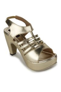 Naisha Wedges Sandal For Women (code - Sc-mq-1112-gold)
