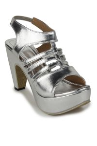 Naisha Wedges Sandal For Women (code - Sc-mq-1112-silver)
