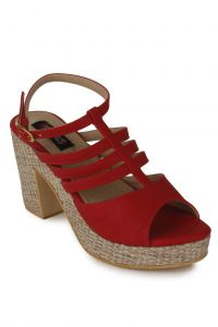 Naisha Wedges Sandal For Women (code - Sc-ma-b-1101-red)