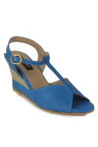 Naisha Wedges Sandal For Women (code - Sc-ma-b-1201-blue)