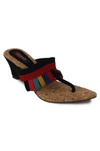 Wedges - Naisha Wedges Sandal For Women (Code - SC-MK-450-Black)