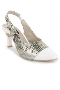 Women's Footwear - Naisha Heels Ballerina For Women (Code - SC-MQ-1110-White)