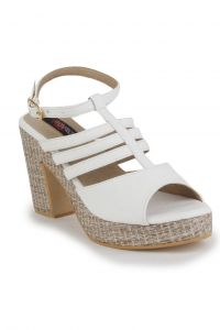 Naisha Wedges Sandal For Women (code - Sc-ma-b-1101-white)