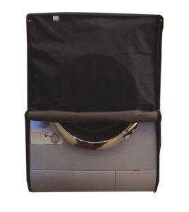 Glassiano Navy Blue Waterproof - Dustproof Washing Machine Cover For Front Load - (code - Giwmc_fl_h-32l-23w-23navy_blue)